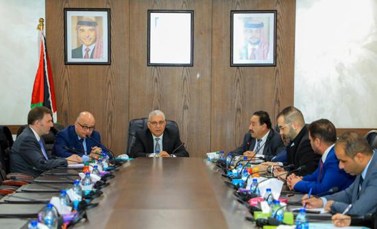 """""""البرلمانية الأردنية - الأوروبية"""" تلتقي السفير الروسي"""