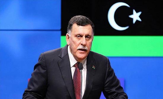 """ليبيا.. """"السراج"""" يأمر بتعزيز الوحدات المقاتلة بكافة المحاور"""