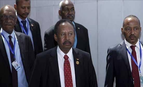 حمدوك يبحث مع ماكرون الأوضاع في السودان