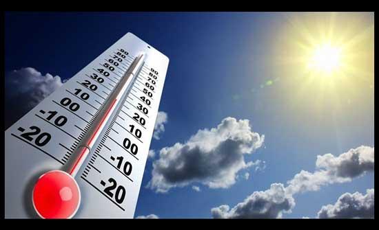 الثلاثاء : انخفاض طفيف على درجات الحرارة