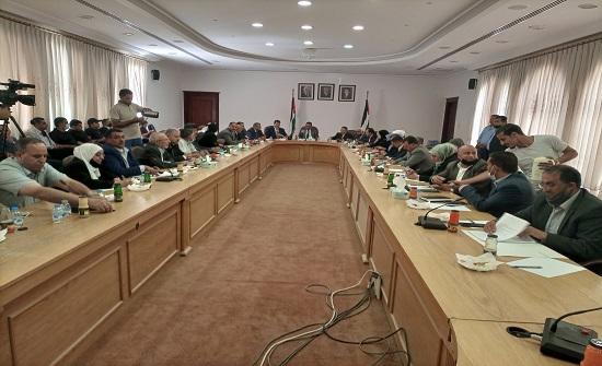 لجنة التربية النيابية تلتقي مجلس محافظة الطفيلة