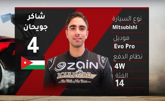 جويحان يفوز بلقب سباق الحسين لتسلق مرتفع الرمان