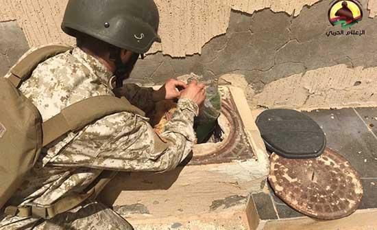 """تواصل معاناة النازحين في طرابلس بسبب ألغام """"فاغنز"""" المميتة"""