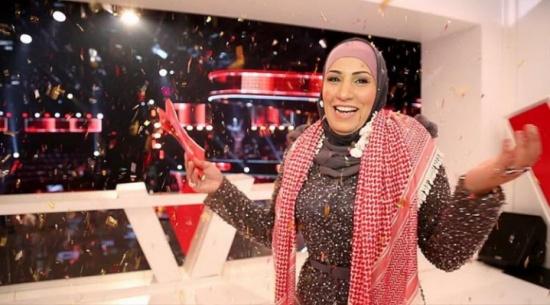 الاردنية نداء شرارة : حجابي لم يقف عائقا امام احترافي الغناء