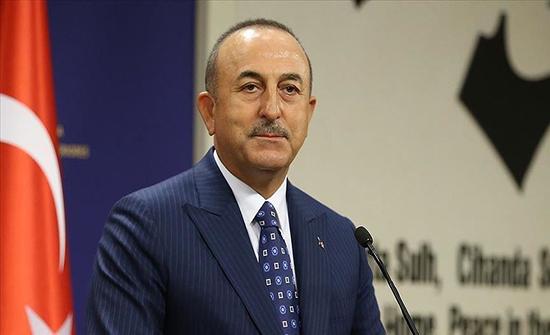"""تشاووش أوغلو: ينبغي إقران دعوة وقف إطلاق النار بانسحاب أرمينيا من """"قره باغ"""""""