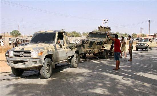 الجيش الليبي يرسل تعزيزات كبيرة لتحرير سرت