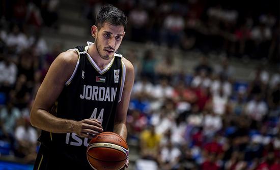 نجم الأردن أفضل مسجل بأولى جولات مونديال السلة