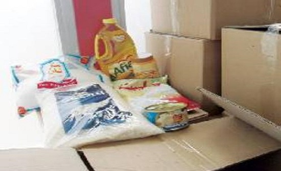 توزيع طرود غذائية على أسر محتاجة في الاغوار الشمالية