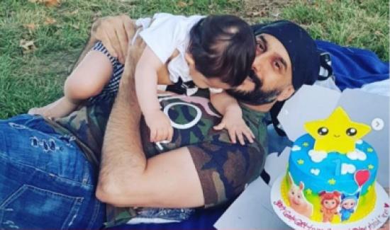 """قصي خولي يحتفل بعيد ميلاد نجله: """"كل سنة وأنت عميدي وفارسي"""""""