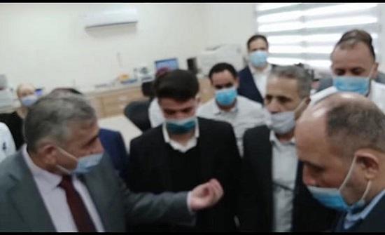 مشادة كلامية بين النائب الحراسيس ووزير الصحة - فيديو