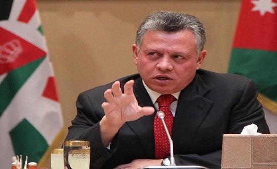 الملك: ضرورة حماية الفلسطينيين ووقف جميع الاعتداءات والإجراءات الإسرائيلية
