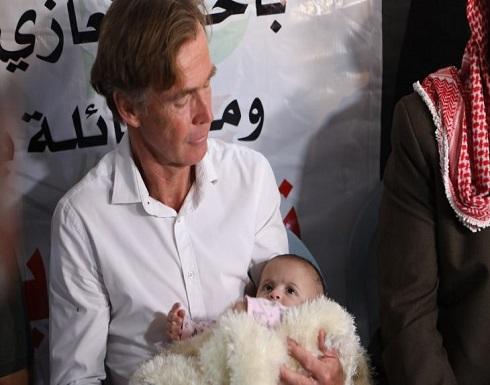 دبلوماسيون أوروبيون يعزون عائلة المعارض الفلسطيني نزار بنات ويدعون لتحقيق مستقل- (صور وفيديو)