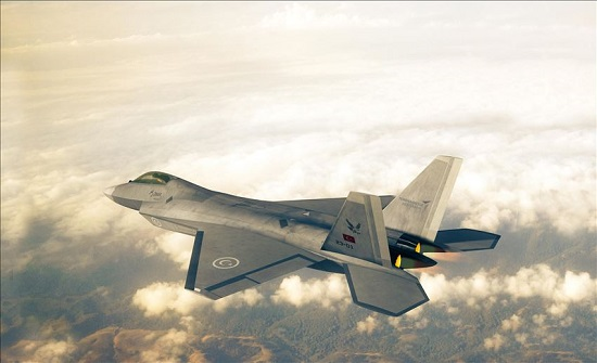 """تركيا تنتج مقاتلة محلية الصنع ستحتل مكانة """"F-16"""" الأمريكية"""