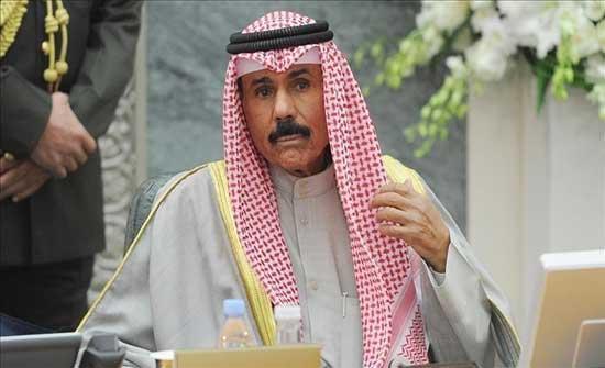 أمير الكويت يقبل دعوة الرئيس الباكستاني لزيارة بلاده