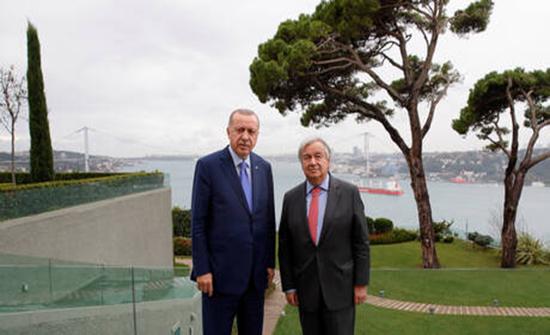 الأمم المتحدة: غوتيريش قرر تشكيل فريق خاص لدراسة مقترح أردوغان حول سوريا