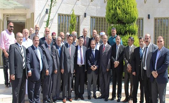 الامير مرعد يلتقي عددا من أعضاء اللجنة الوطنية للعسكريين السابقين