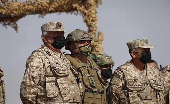 اللواء الحنيطي: القوات المسلحة قادرة على مواجهة أي تهديد .. صور
