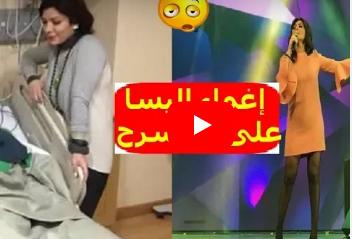 """لـحظة إغماء الفنانة """"إليسا"""" على المسرح في دبي .. وسبب سقوطها ، وتعليقات الفنانين .."""
