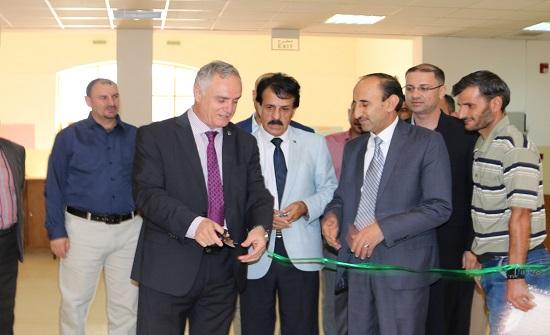 إفتتاح معرض للكتاب في جامعة الحسين بن طلال