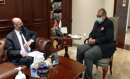 بحث تنشيط التبادل التجاري بين الاردن وتونس