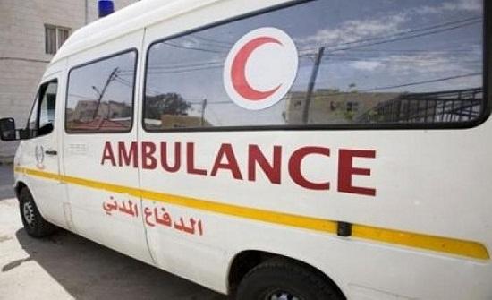 إصابة سائقين بحادث تدهور في الطفيلة