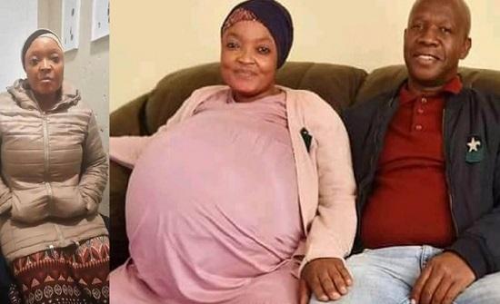 افريقيا :  سيدة ولدت 10 توائم قيد الاعتقال