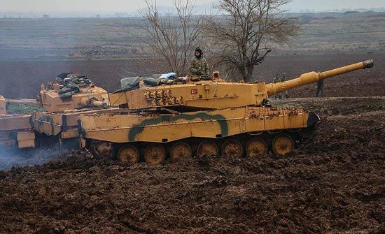 """الجيش التركي و""""السوري الحر"""" يسيطران على قرية غربي عفرين"""