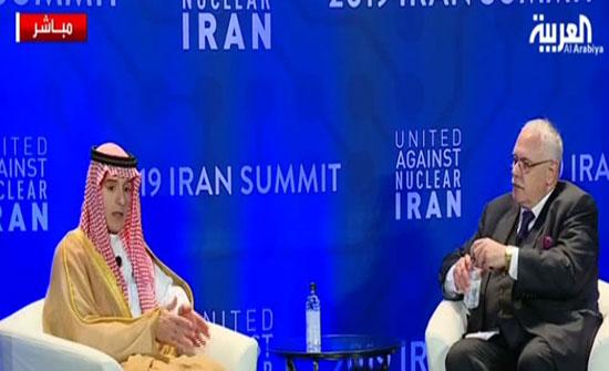 الجبير: غريب أن إيران الوحيدة التي لم تستهدفها القاعدة