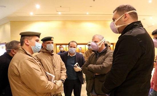 القوات المسلحة تتفقد جاهزية الفنادق المخصصة للحجر الصحي