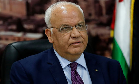 عريقات يطالب بمحاسبة اسرائيل على اعتداءاتها بحق الفلسطينيين