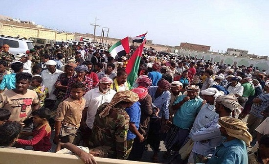 """جنوب اليمن.. """"مليونية الوفاء"""" لشكر السعودية والإمارات"""