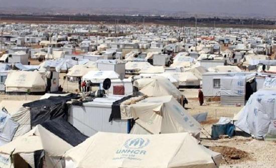 وفاة طفل بمخيم الزعتري اثر حريق بثلاثة كرفانات
