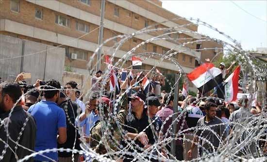 """المئات يطالبون بالتراجع عن إقالة قائم مقام """"الرفاعي"""" في العراق .. بالفيديو"""