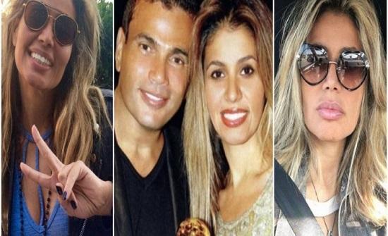 بالفيديو: زينة عاشور .. قلبت حياة عمرو دياب وفجّرت غضبها بعد ارتباطه بدينا الشربيني