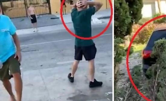 شاهد: ما حدث عندما ترك الأب صبيًّا في سيارة محركها يعمل في اسبانيا