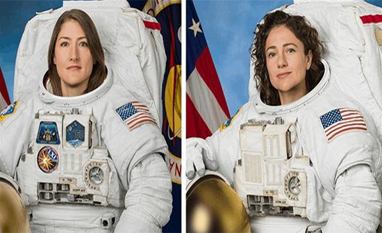 الفضاء مفتوح أمام النساء