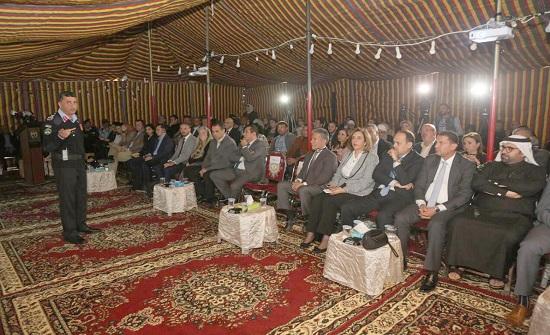ممثلو عدد من الوزارات والسفارات يزورون مركز إصلاح وتأهيل ارميمين