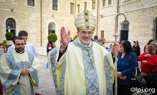 رئيس الأساقفة بييرباتيستا بيتسابالا بطريركًا جديدًا للبطريركية اللاتينية في القدس