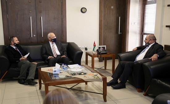 نقيب المهندسين يلتقي وزير الاقتصاد الرقمي والريادة