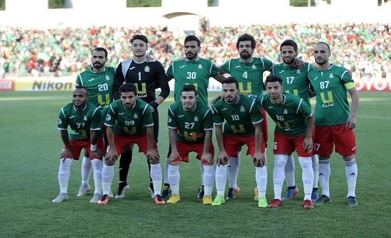 الوحدات يلتقي النصر السعودي بدوري أبطال آسيا غدا