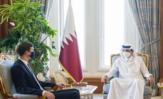 كوشنر يغادر الدوحة والساعات القادمة ستكشف مصير محادثاته لحل الأزمة الخليجية