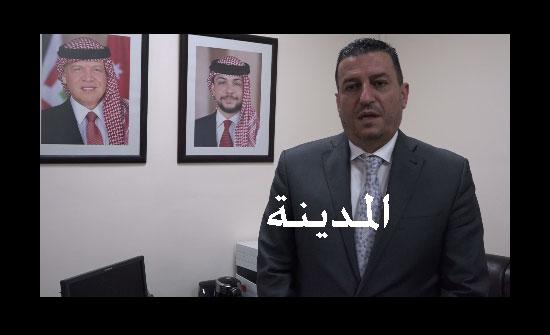 النائب الدكتور خالد البستنجي للمدينة  : هذه معوقات الاستثمار التي نعمل على تذليلها