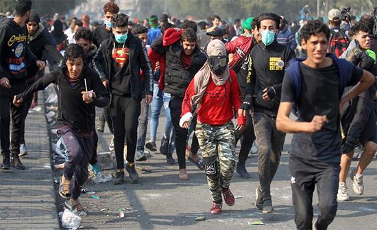 """العراق: تجدد الاحتجاجات في الناصرية و""""الحشد"""" في البصرة"""