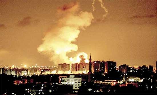 أجنحة غزة العسكرية تعلن قصفها عدة مستوطنات إسرائيلية