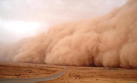 عاصفة رملية جديدة تتجه نحو الأردن