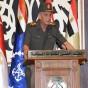 وزير الدفاع والإنتاج الحربي المصري  الفريق أول محمد زكي
