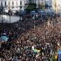 جزائريون يتظاهرون في وسط العاصمة الجزائرية رفضا للانتخابات