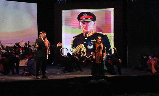 وطني... شمس أوبريت يرصد تاريخ الأردن وحضارته