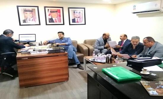 وفد سفير الضمان الاجتماعي يلتقي الأردنيين في جدة