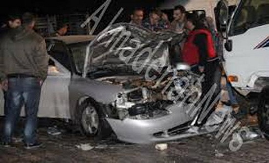 إربد : وفاة شخص وإصابة أخر اثر  حادث تدهور